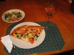 Homemade Pizza Yum Kel S Cafe Of All Things Food