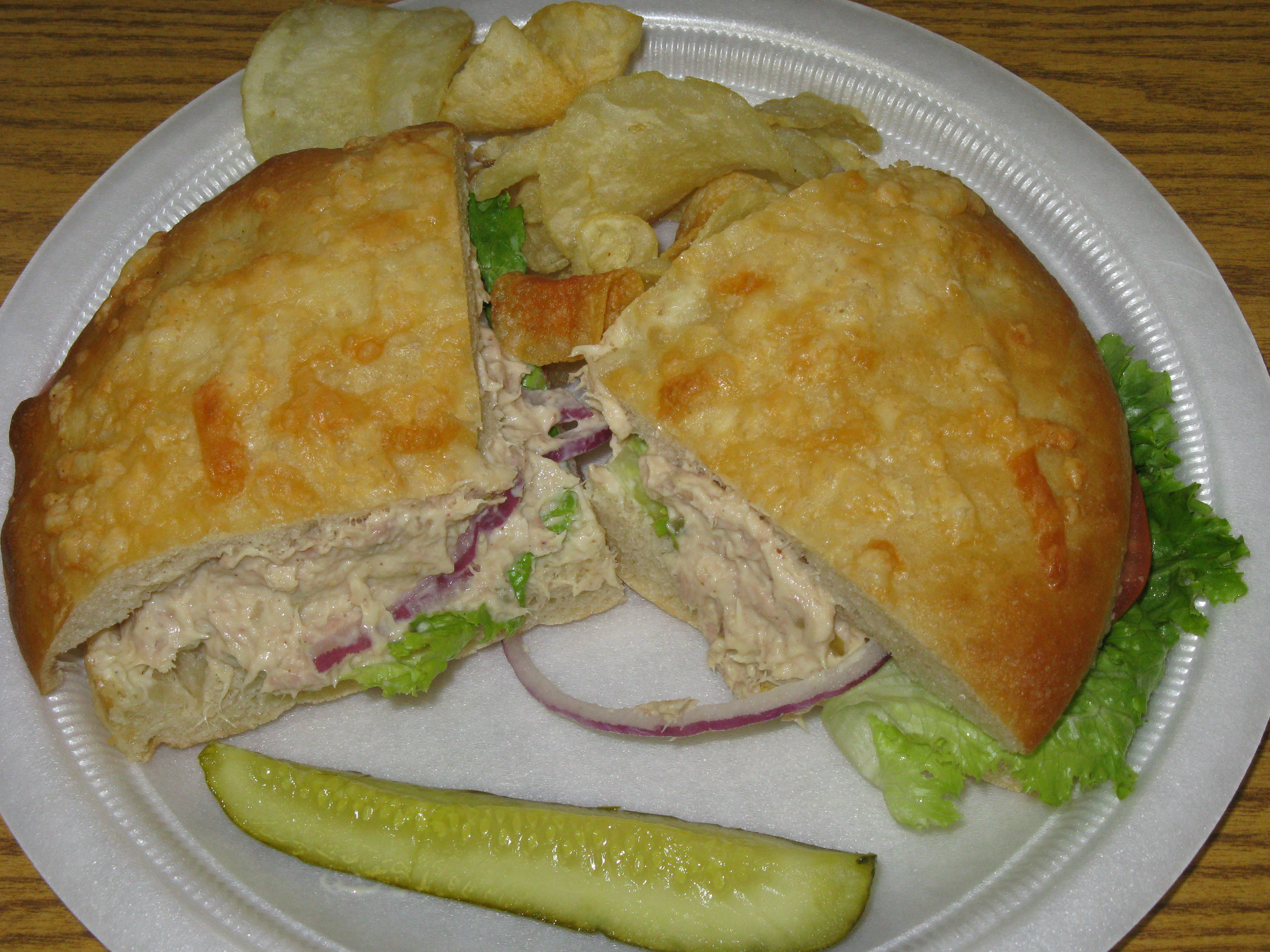 Tuna salad sandwich reviews kel 39 s cafe of all things food for How to make a tuna fish sandwich