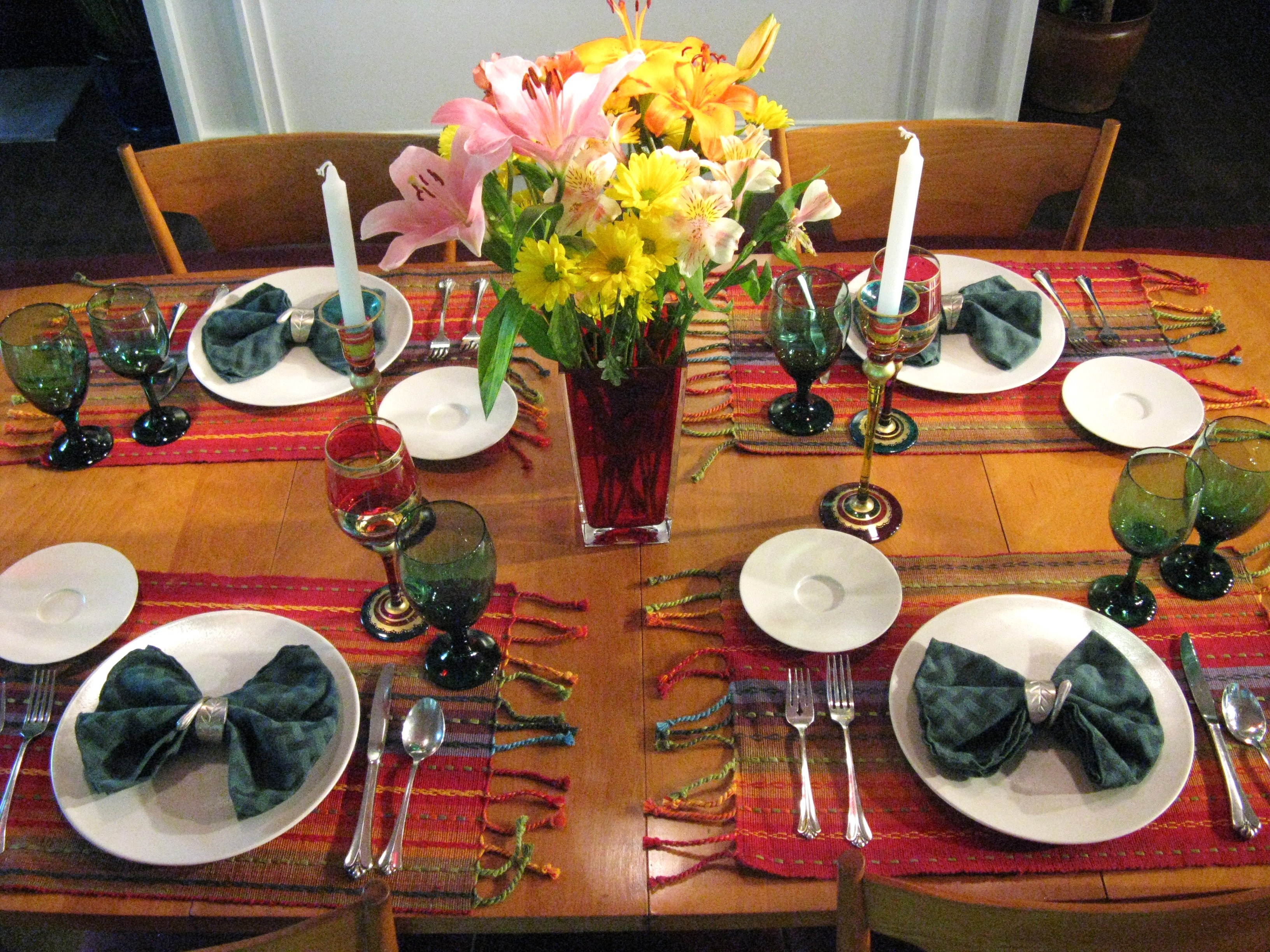 Tip of the Week - Set a Festive Table! | Kel's Cafe of All ...