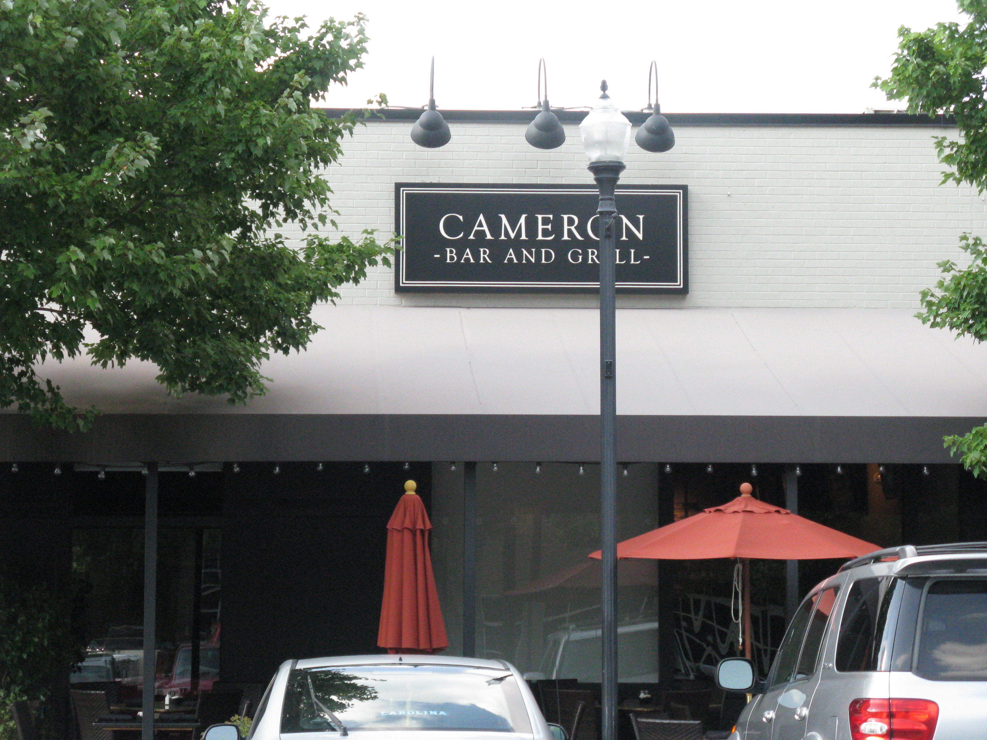 Cameron village crawl kel 39 s cafe of all things food - Restaurant bar and grill ...