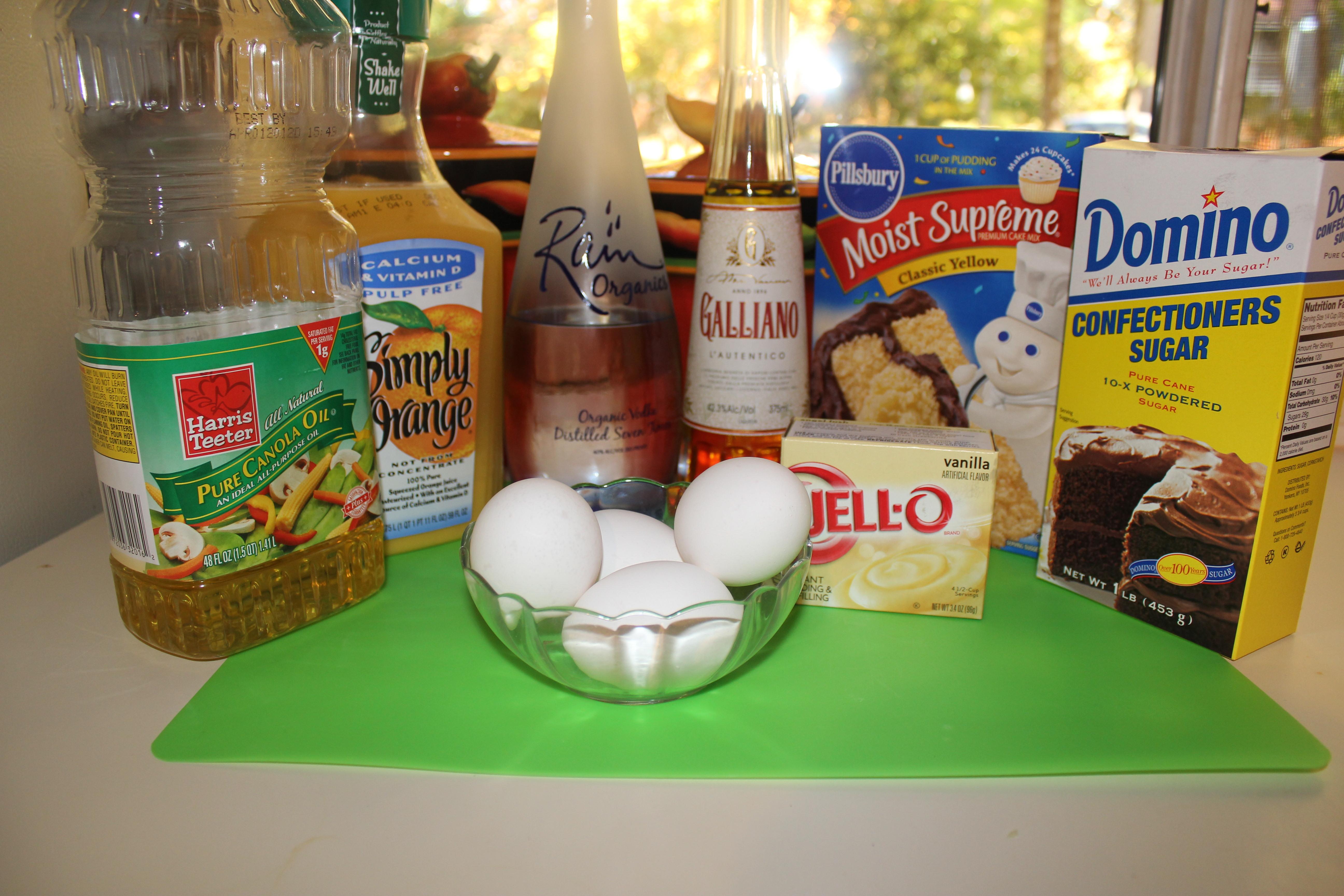 Galliano recipes harvey wallbanger cake