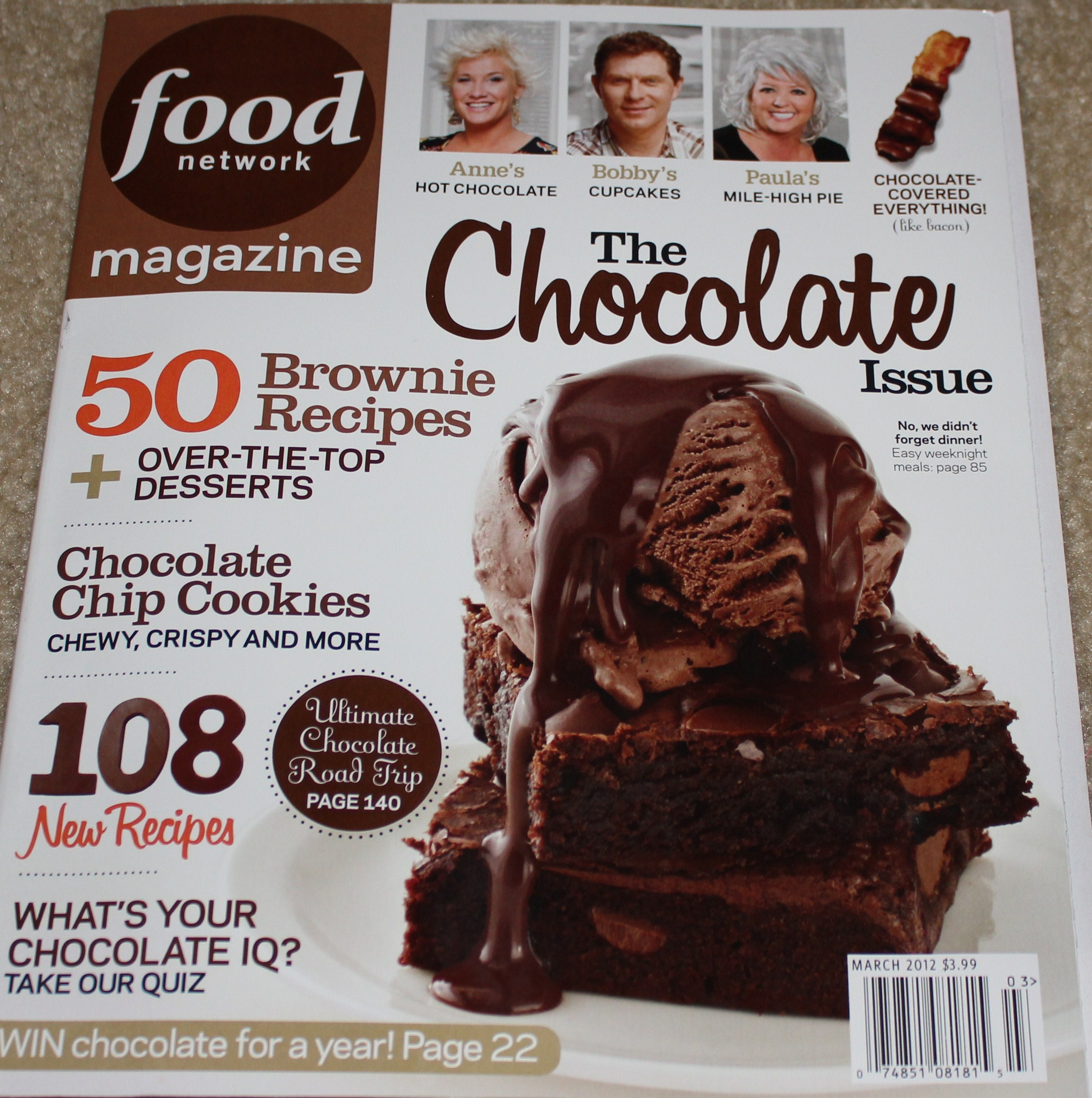 Tip of the month february 2012 love chocolate get this kels this months food network forumfinder Gallery
