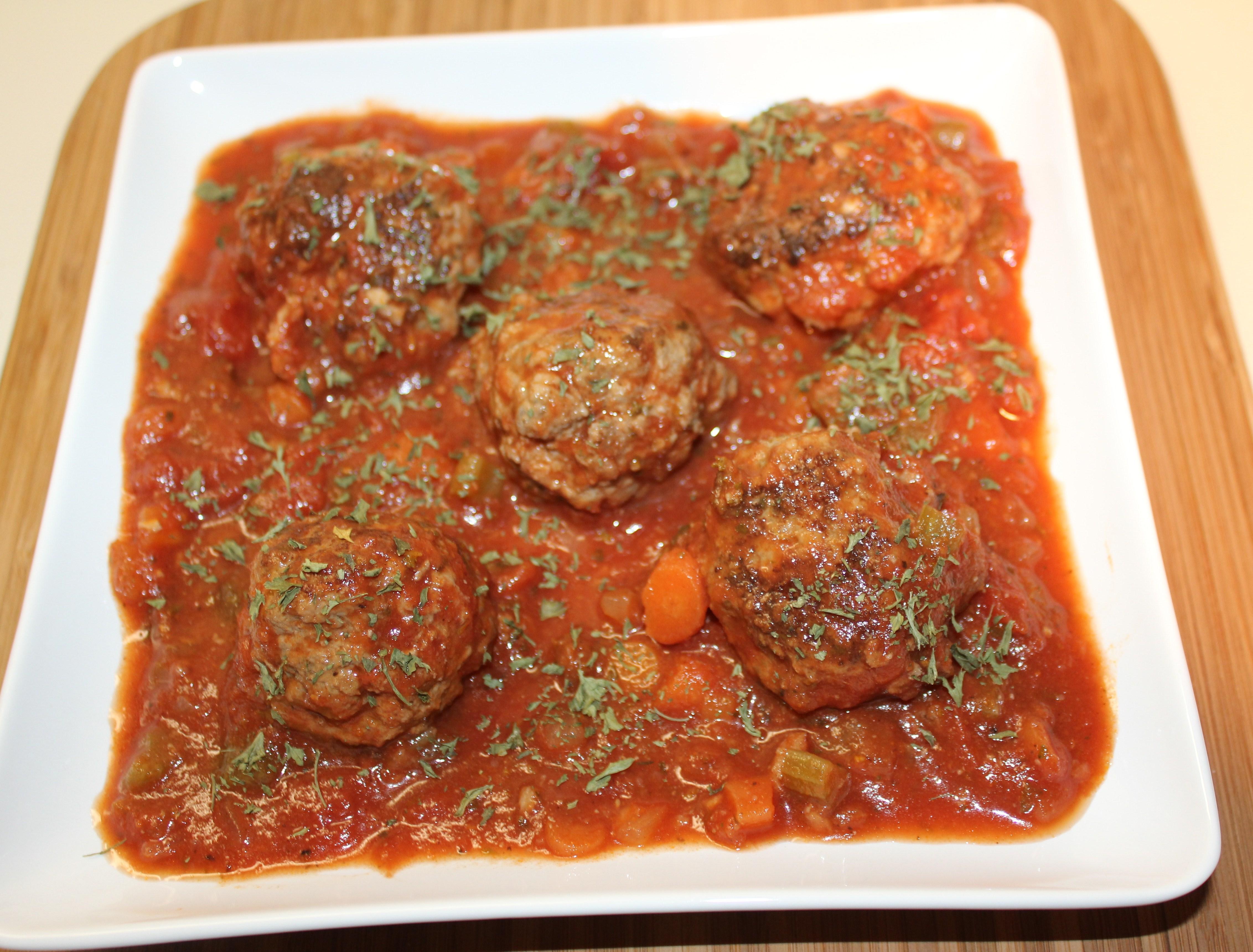 Kel's Spicy, Saucy Meatballs | Kel's Cafe of All Things Food