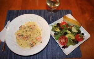 Food of the month april 2012 shrimp scampi kel 39 s cafe - Olive garden early bird specials ...