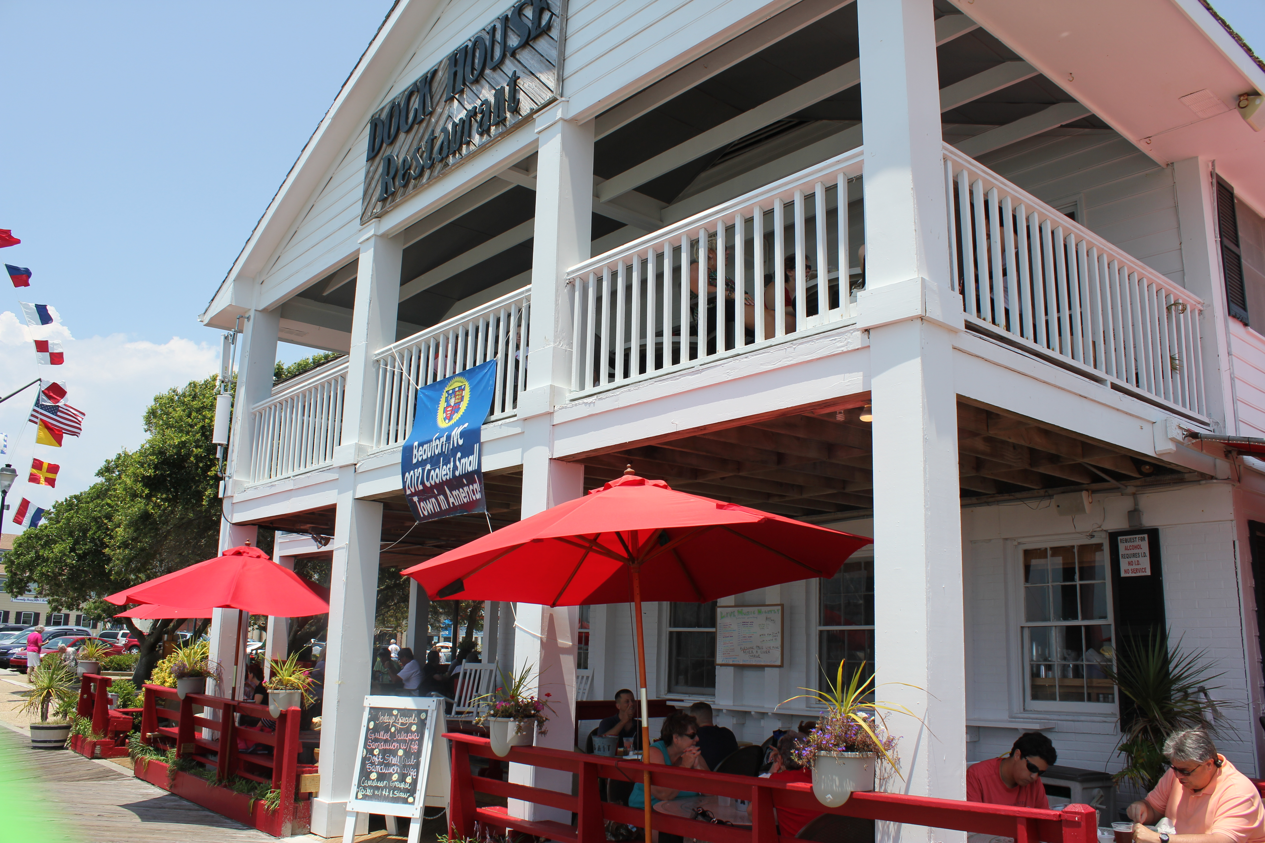 Dock House Restaurant Beaufort Nc