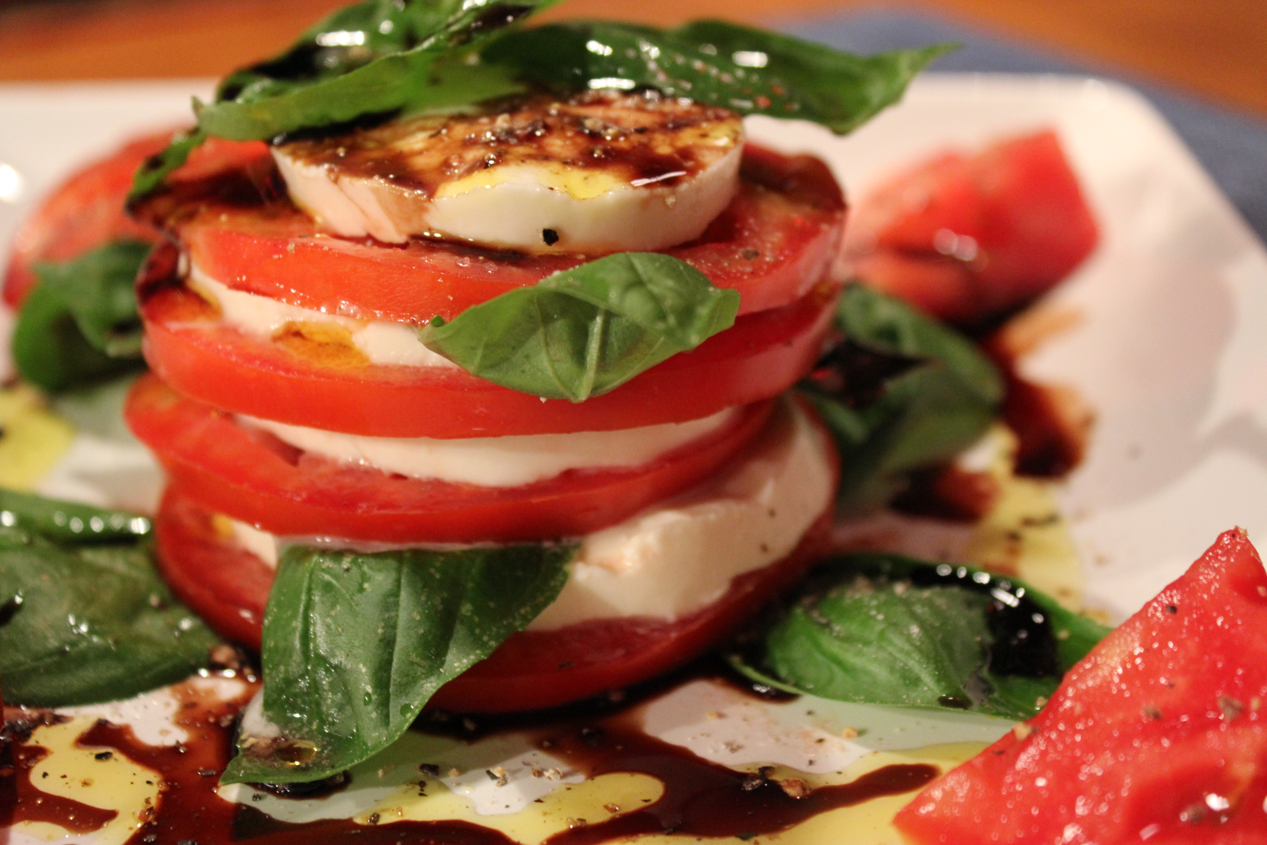 Kel's Colorful Caprese Salad | Kel's Cafe of All Things Food