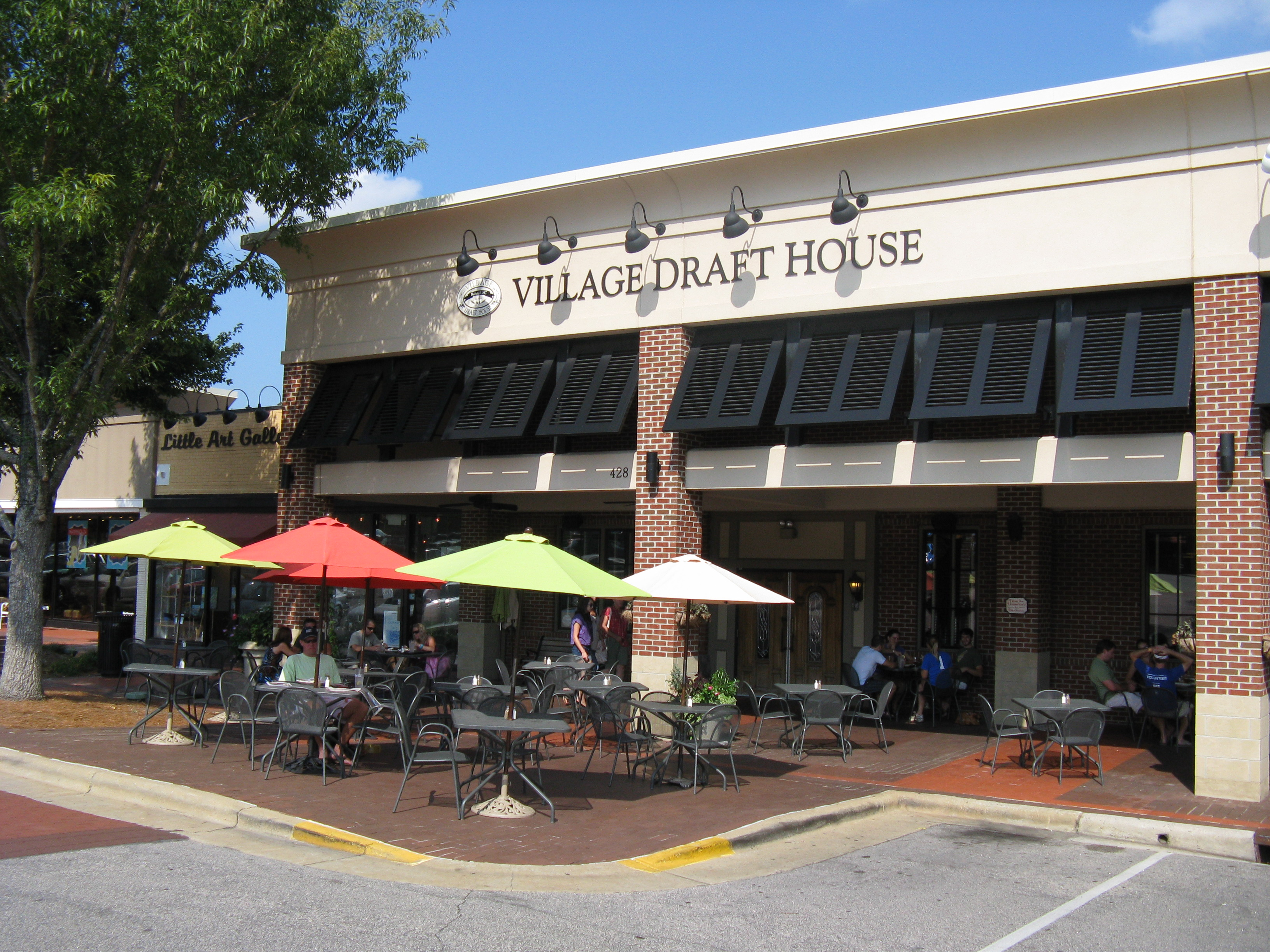 Drink of the month september 2012 beer kel 39 s cafe of for The house raleigh