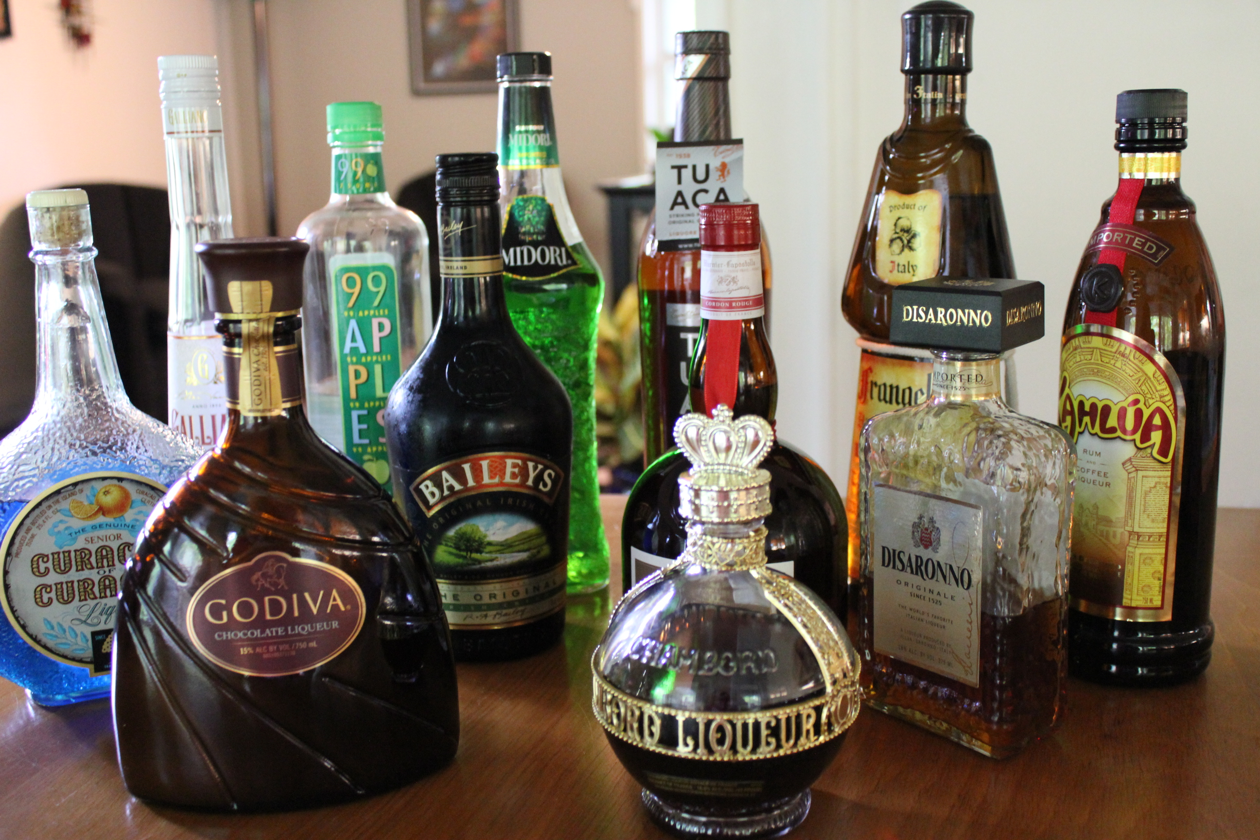 Drink of the Month, October 2012 – Liqueurs | Kel's Cafe of All ...