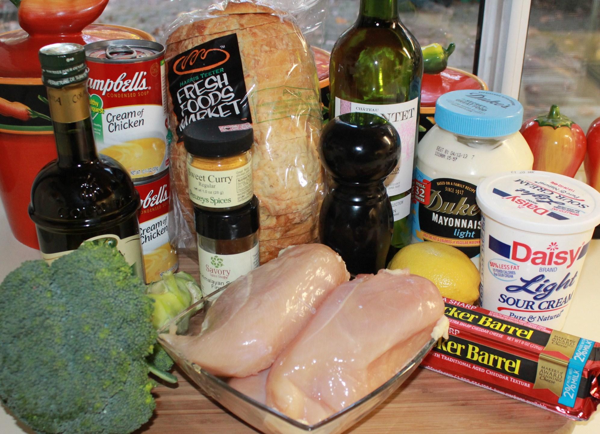 Chicken divan easy recipe