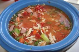 Turkey and white bean soup
