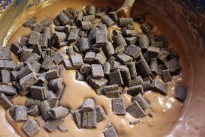 Add chocolate morsels