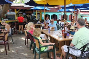 Grand Cayman breakfast at Coconut Joe's