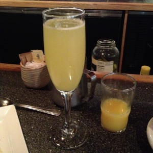 Mimosa at Irregardless