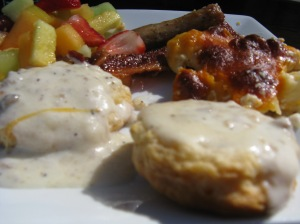 Oxford biscuits and gravy, etc.