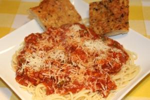 Pasta and Savory Tuttorosso sauce