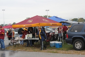 Redskins tailgating