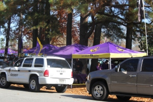 Tailgating in Greenville