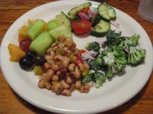 Tir Na Nog assorted buffet salads