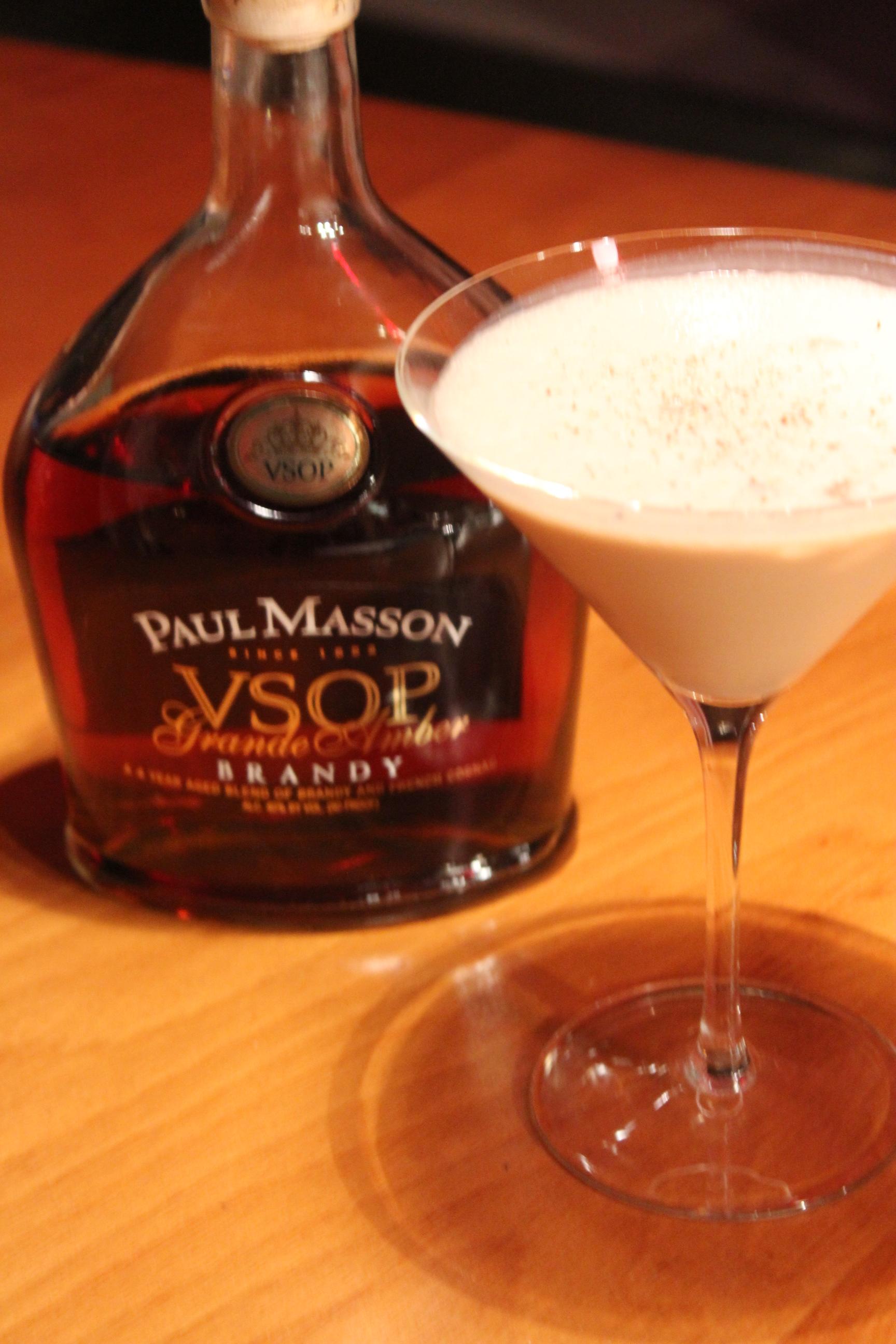 Brandy Alexander With Vanilla Ice Cream