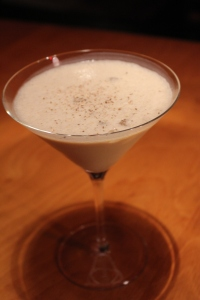 Ice cream Brandy Alexander