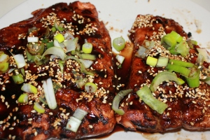 Karen's Toasted Sesame Ginger Salmon