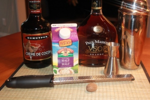 Skinny Brandy Alexander ingredients 2