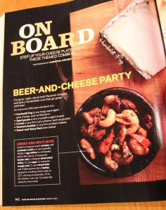 Beer and Cheese party article