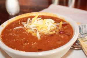 Chili at Foxfire Grille