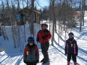 Fun on the slopes, Snowshoe 2011