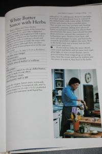A page from Julia Child
