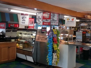 Community Deli interior