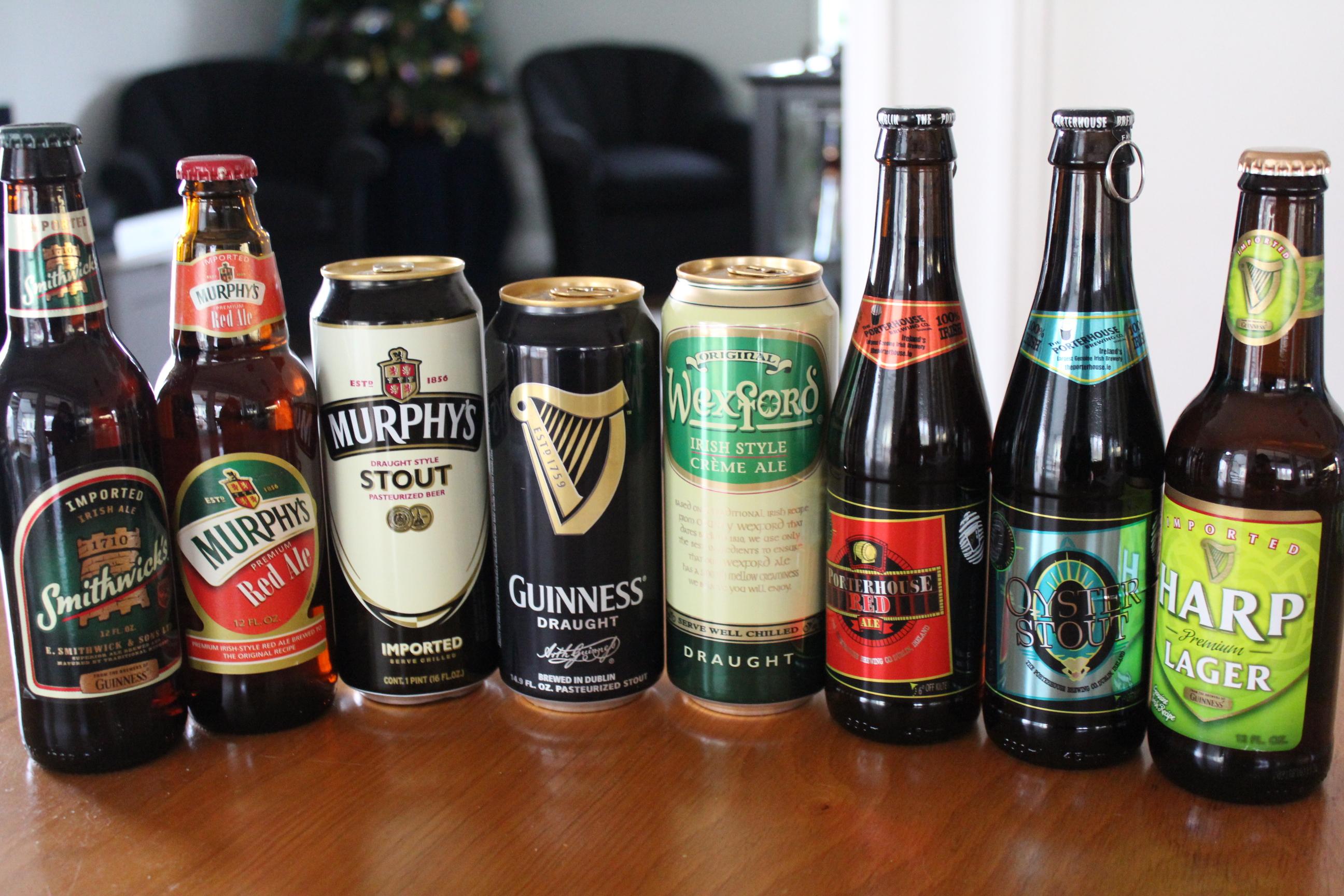 Classic Irish Alcoholic Drinks