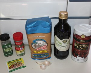 Kel's Italian Pizza dough ingredients