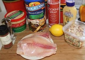 Kel's tilapia ingredients