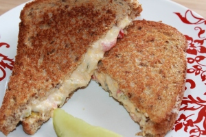 Kel's Grilled pimento cheese