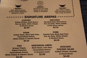 Guasaca's Signature Arepas