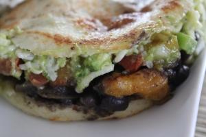 Guasaca's Vegetarian Arepa