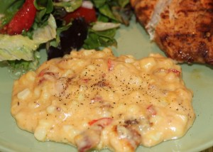 Kel's Creamy Corn Cheese and Bacon Casserole