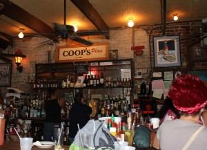 Coop's Place interior