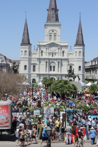 French Quarter Fest Jackson Square 2013
