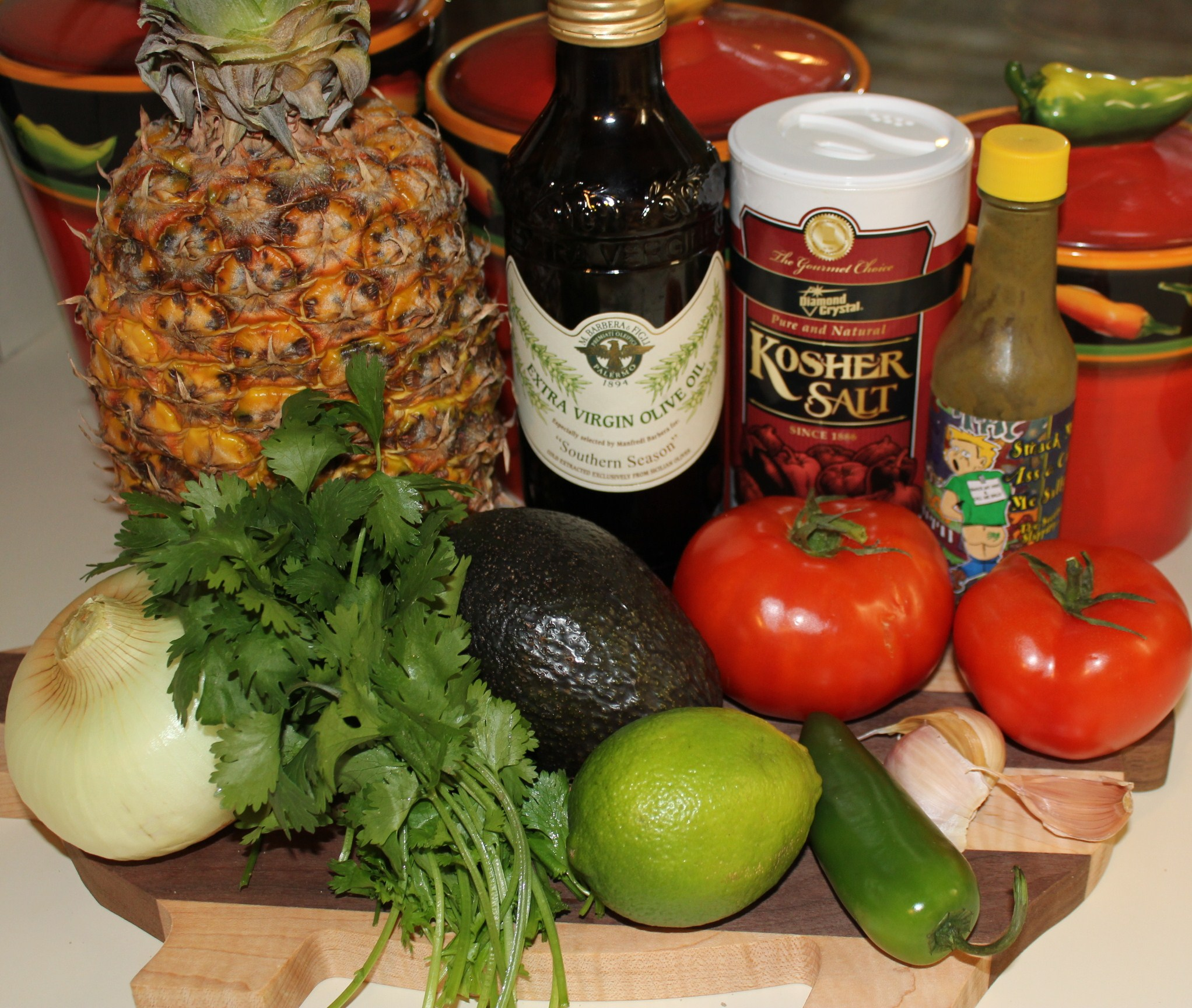 Kel's Pineapple Tomato Salsa with Avocado   Kel's Cafe of All Things ...
