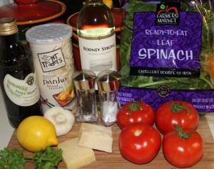 Kel's stuffed tomatoes ingredients