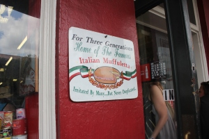 The best muffuletta - N.O. 2012