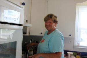 Chef Joyce hard at work!