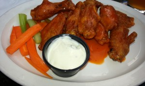 Chicken wings from Buffalo Brothers