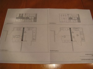 Early kitchen plans