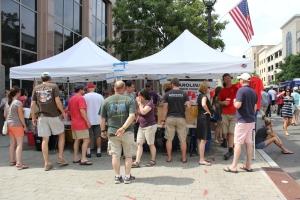 Beer tents are always popular
