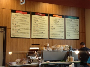 Glenlake Cafe Menu