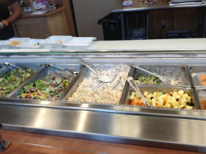 Glenlake Cafe side salads