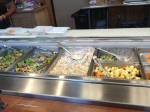 Glenlake Cafe side salads